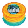 Godzilla 2014 Cake Plaque