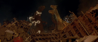 GMK - Ghidorah Releases Godzilla