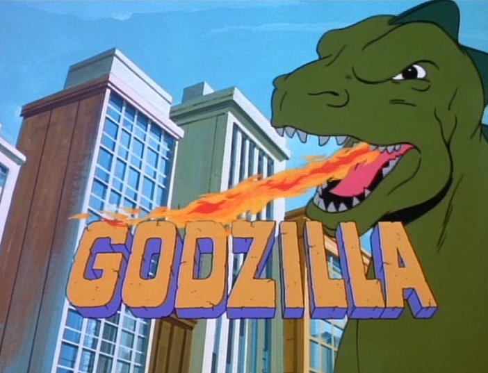 Image result for godzilla cartoon