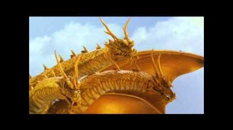 Grand King Ghidorah Roars