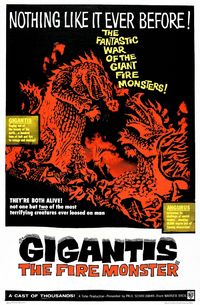 Gigantis The Fire Monster Poster A