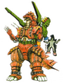 Concept Art - Godzilla vs. MechaGodzilla 2 - MechaGodzilla 4