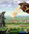 Godzilla Monster Mayhen 2D vs Mothra