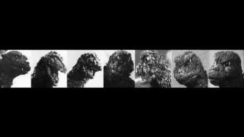Showa Godzillas' Schrei
