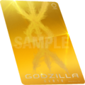 Godzilla The Planet Eater - Ghidorah card