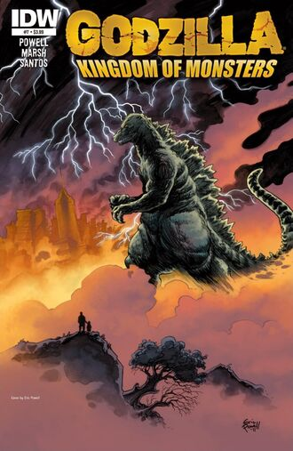 KINGDOM OF MONSTERS Issue 7 CVR A