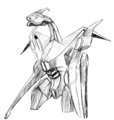 Concept Art - Godzilla 2000 Millennium - Orga 44