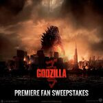GODZILLA WORLD PREMIERE FAN SWEEPSTAKES