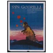 Godzilla Movie Posters - Son of Godzilla -Polish-
