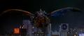 Godzilla vs. Megaguirus - Megaguirus flies