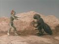 Go! Greenman - Episode 2 Greenman vs. Antogiras - 40 - Stay back you fiend