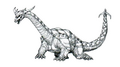 Concept Art - Godzilla vs. Destoroyah - Destoroyah 14