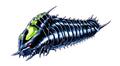 Concept Art - Godzilla vs. Mothra - Battra Larva 11