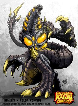 Colossal kaiju combat nemesis by kaijusamurai-d6en2na