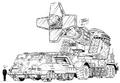 Concept Art - Godzilla vs. Destoroyah - DAG-MB96 3