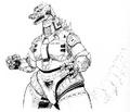 Concept Art - Godzilla vs. MechaGodzilla 2 - MechaGodzilla 7