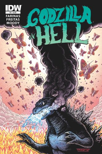 GODZILLA IN HELL Issue 3 CVR A STNRD