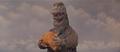 MusukoGoji holds a rock
