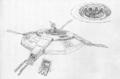 Concept Art - Godzilla vs. Biollante - M6000 M.T.C. System 2