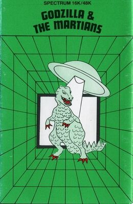 Godzilla And The Martians
