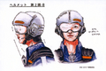 Concept Art - Godzilla vs. Megaguirus - G-Grasper Head Gear 1