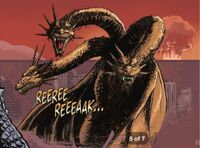 King Ghidorah in Hell