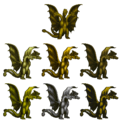 King Ghidorah pallette set