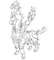 Concept Art - Godzilla Final Wars - Keizer Ghidorah 1