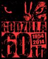 Godzilla 60th Anniversary Logo