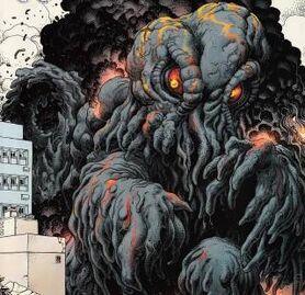 Hedorah en Godzilla legends