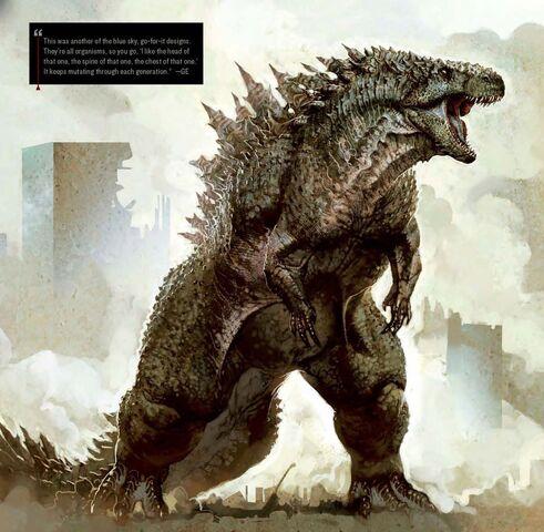 File:Concept Art - Godzilla 2014 - Godzilla 6.jpg