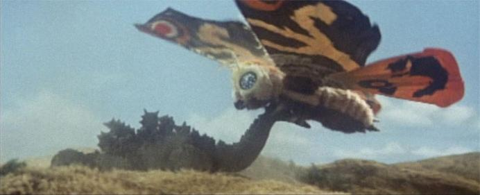 Image result for Mothra vs. Godzilla