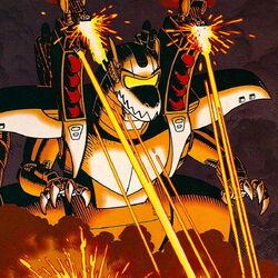 Cybersaur opening fire