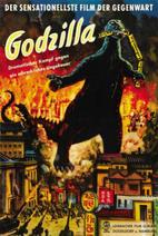 Godzilla Movie Posters - Gojira -German-