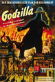 Godzilla Movie Posters - Gojira -German-