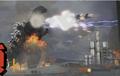 Godzilla VS Maser Tanks Now With Jetplanes!