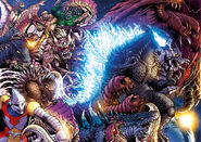 Godzilla rulers of earth 25 wraparound cover by kaijusamurai-d8tcrdq
