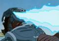 Cyber Zilla blue fire