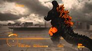 Burning Godzilla en Godzilla The Game