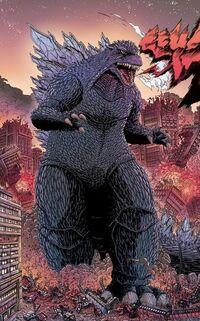 Godzilla THCW