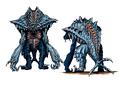 Concept Art - Godzilla 2000 Millennium - Orga 14