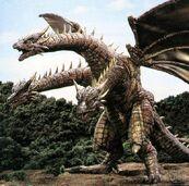 Cretaceous King Ghidorah