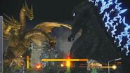 GODZILLA vs King Ghidorah EN GODZILLA THE GAME