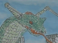 Gamera vs. Garasharp Storyboard 3