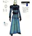 Concept Art - Godzilla Final Wars - Xilien Admiral