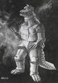 Concept Art - Godzilla vs. MechaGodzilla - MechaGodzilla 2