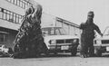 GVH - Godzilla and Hedorah with Cars