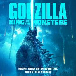 Godzilla King of the Monsters (Original Motion Picture Soundtrack) - Cover art