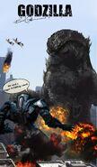 Godzilla poster 2014 comic by birmelini-d6ft070