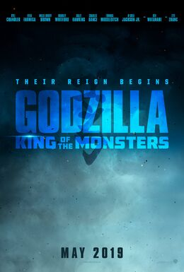 Godzilla King of the Monsters - Teaser poster